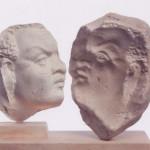 Μήτρα κεφαλής νέγρου πρώιμων ρωμαϊκών χρόνων.